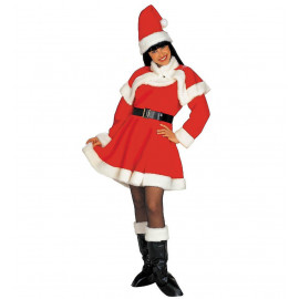 Abito Natalizio Donna Babbo Natale Lusso PS 25830 Miss Santa Pelusciamo Store Marchirolo