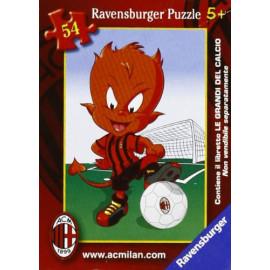 Mini Puzzle Ravesburger A.C. Milan diavoletto 54 pz. 04390