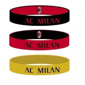 Kit 3 braccialetti In Silicone AC Milan PS 00912 Pelusciamo Store Marchirolo