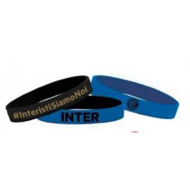 Kit 3 braccialetti In Silicone Forza Inter FC Internazionale PS 00911 Pelusciamo Store Marchirolo