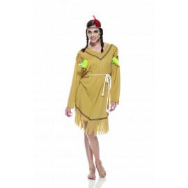 Costume Carnevale donna Indiana , Vestito Far West  05233 pelusciamo store