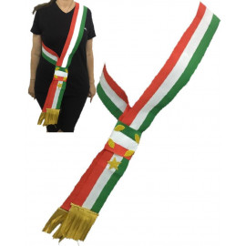Fascia Sindaco A Nodo 200x90 Cm Made In Italy  PS 04630 pelusciamo store marchirolo