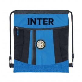 Inter Sacca Coulisse Sportiva Palestra FC Internazionale PS 09557 Borse Calcio Pelusciamo Store Marchirolo
