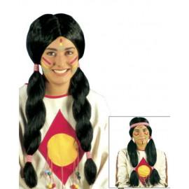 Parrucca Da Indiano Indiana PS 26412 Parrucche Carnevale Indiani Pelusciamo Store Marchirolo
