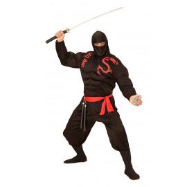 Costume Carnevale Uomo Super Ninja Muscoloso PS 26187 Pelusciamo Store Marchirolo