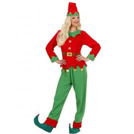 Costume Elfo Donna Aiutante Babbo Natale PS 25836 Pelusciamo Store Marchirolo