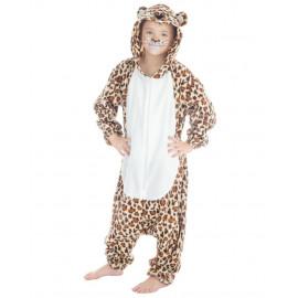Costume Carnevale Leopardo Pigiamone Bambini PS 26055