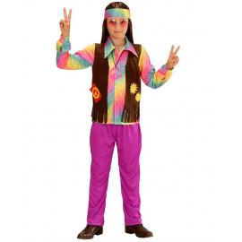 Costume Carnevale Bambino Hippie Anni 60 PS 26174 Figli Dei Fiori Pelusciamo store Marchirolo