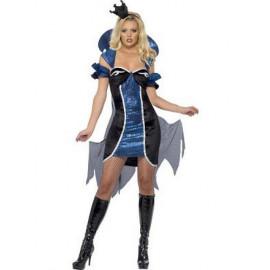 Costume Carnevale Donna Regina Blu