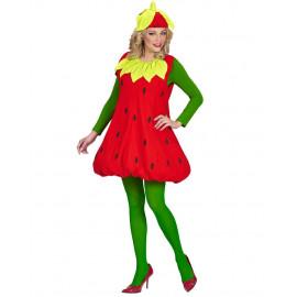 Costume Carnevale Fragola PS 26407 Taglia Unica da Adulto Pelusciamo Store Marchirolo
