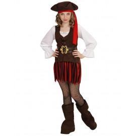 Costume Carnevale Piratessa Travestimento Bambina Pirata PS 26600 Pelusciamo Store Marchirolo