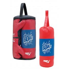 Set Boxe Mini sacco da pugilato completo di guantoni 06772 PELUSCIAMO STORE