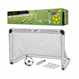 Porta da calcio pieghevole Goal Striker Sport One 90x59x61 Cm 06727 PELUSCIAMO STORE