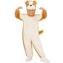 Costume Carnevale Bimbo Cane Bulldog In Caldo Peluche PS 26098 Pelusciamo Store Marchirolo