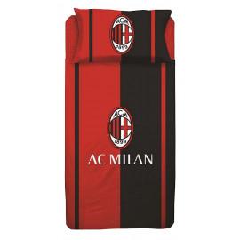 Completo Letto singolo 1 piazza  federa + lenzuola Milan 04415 pelusciamo store