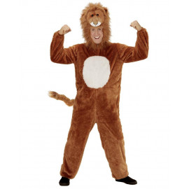 Costume Carnevale Leone In Caldo Peluche PS 26085