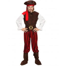 Costume Carnevale Pirati Dei Caraibi PS 26268 Travestimento Pirata