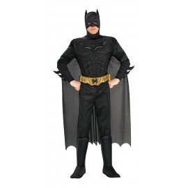 Costume Carnevale Adulto Batman Deluxe PS 15021 Uomo pipistrello