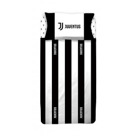 Juventus Completo Letto Singolo 1 Piazza Federa + Lenzuola Juve JJ PS 09548