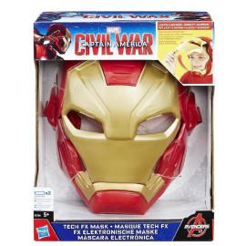 Maschera Elettronica Iron Man Taglia Unica Bambino PS 26566 Pelusciamo Store Marchirolo