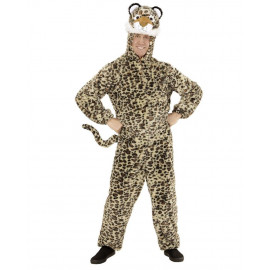 Costume Carnevale Leopardo In Caldo Peluche PS 26082