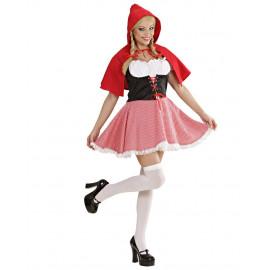 Costume Carnevale Donna Cappuccetto Rosso PS 22931 Pelusciamo Store Marchirolo