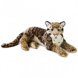 Peluche Leopardo nebuloso 65 cm National Geographic Venturelli *04151