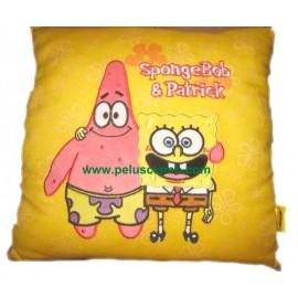Cuscino quadrato serie Spongebob e Patrick *09929