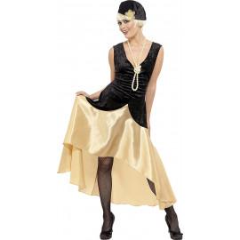 Costume Carnevale Donna vestito Charleston anni 20 Gatsby