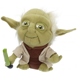 Peluche star wars Yoda 18 cm. peluches guerre stellari *00615