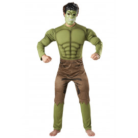 Costume Carnevale the avengers Incredibile Hulk Marvel *17617