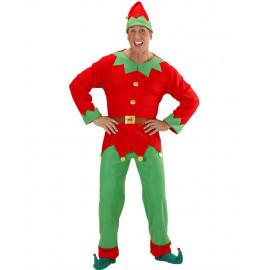 Costume Elfo Uomo Aiutante Babbo Natale PS 25839 Pelusciamo Store Marchirolo