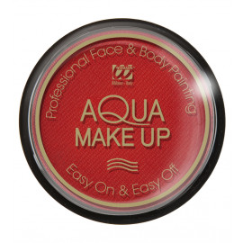 Trucco Viso ad Acqua , Make Up Professionale Colore Rosso PS 01196