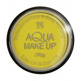 Trucco ad Acqua, Make Up Giallo body painting professionale