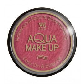 Trucco make up, Tampone Rosa Fuxia ad acqua accessori Carnevale   pelusciamo.com