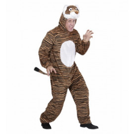 Costume Carnevale Adulto unisex Tigre in peluche party animals *20064