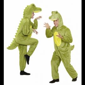 Costume Carnevale Adulto Coccodrillo in peluche party animals *20001