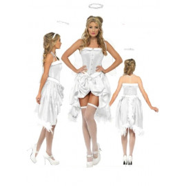 Costume per Natale Donna Baby Angelo travestimento angioletto *17453