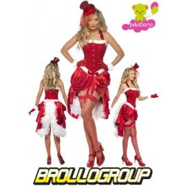 Costume Natalizio Babba natale Burlesque travestimento santa claus | pelusciamo.com