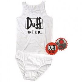 Set Completo Intimo Uomo + Apribottiglie, Canotta e Slip Duff Beer Simpson *11663