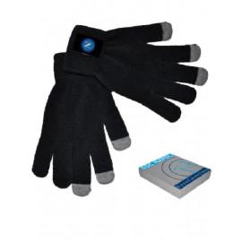 Vendita online Abbigliamento ufficiale Napoli , guanti adulto touch screen per cellulari i-phone o palmari *19063