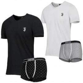 Abbigliamento Juventus Completo Intimo Maglia E Boxer Nuovo Logo JJ Juve PS 08917 Pelusciamo Store Marchirolo