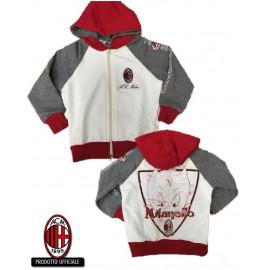 Abbigliamento ufficiale AC Milan felpa bimbo originale *19429 pelusciamo store
