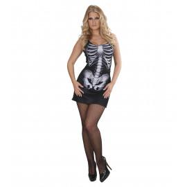 Costume Halloween Donna, Vestito Scheletro | pelusciamo.com