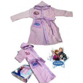 Accappatoio Spugna Bambina Frozen Abbigliamento Disney Bimba *02433