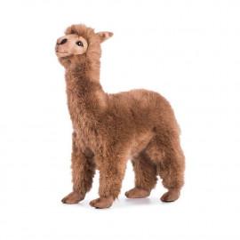 Peluche Alpaca Marrone 35 Cm Peluches Realistici Hansa PS 12107