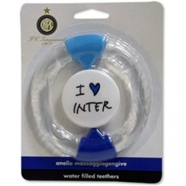 Anello massaggiagengive neonato ufficiale F.C. Internazionale calcio *00899 pelusciamo store vendita accessori e gadget tifosi
