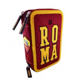 AS Roma Astuccio scuola completo 3 Cerniere PS 06603 Scuola Calcio PELUSCIAMO STORE
