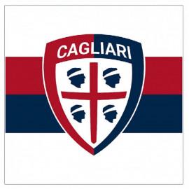 Bandiera grande 140x140 cm. Cagliari calcio prodotto ufficiale 04517 pelusciamo store
