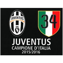 Bandiera Juventus  Celebrativa 34 Scudetto 100x140 PS 01919